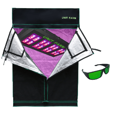 UFO-160 Led Grow Light and Grow Tent 2x4x6ft (120x60x180cm) only stock in Canada