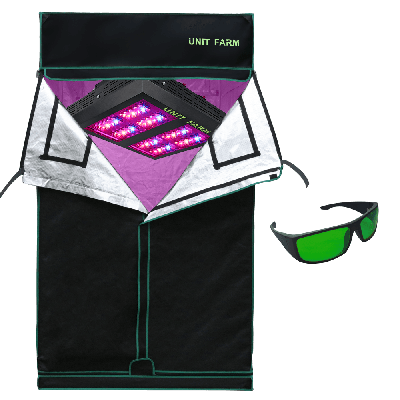 UFO-80 Led Grow Light and Grow tent 3x3x6ft (90x90x180cm) only stock in Canada,Europe